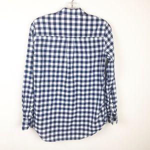 J. Crew Tops - J. Crew Gingham Classic Button-Down Shirt Boy Fit